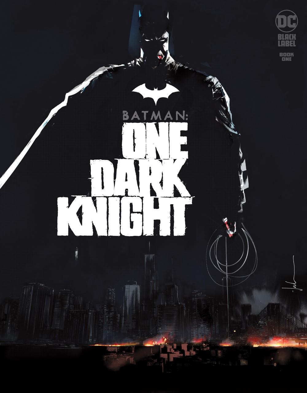 BM_One_Dark_Knight_Cv1 DC Comics November 2021 Solicitations