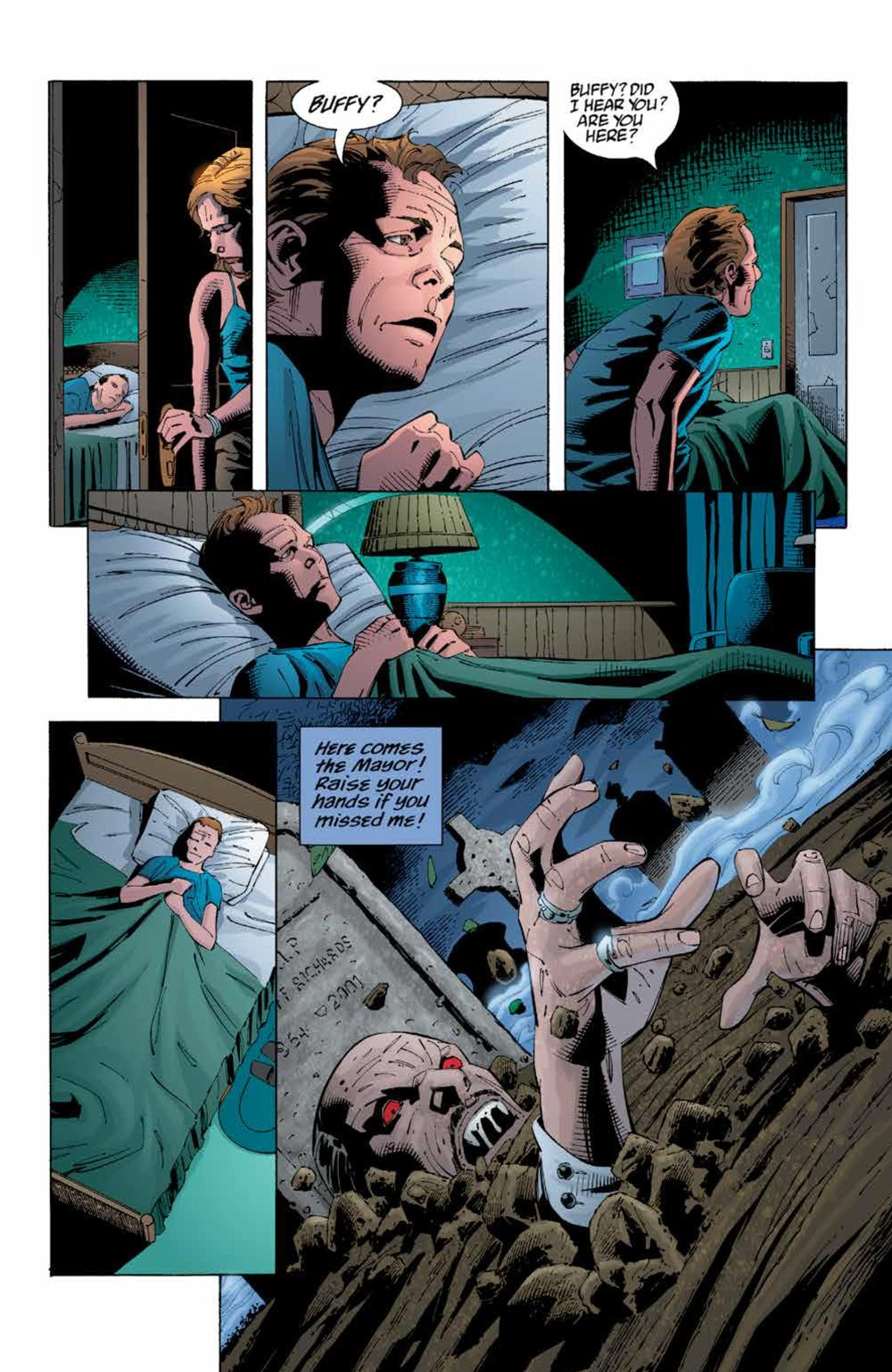 Buffy_Legacy_v5_SC_PRESS_11 ComicList Previews: BUFFY VAMPIRE SLAYER LEGACY EDITION VOLUME 5 TP
