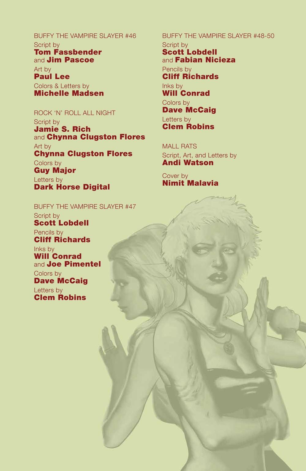 Buffy_Legacy_v5_SC_PRESS_7 ComicList Previews: BUFFY VAMPIRE SLAYER LEGACY EDITION VOLUME 5 TP
