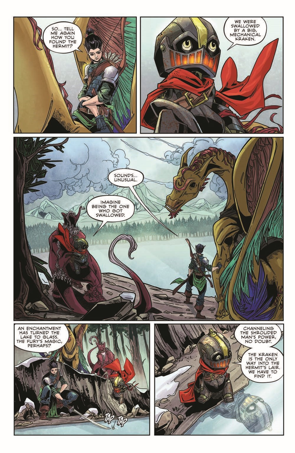 Canto-LH02_pr-3 ComicList Previews: CANTO III LIONHEARTED #2 (OF 6)