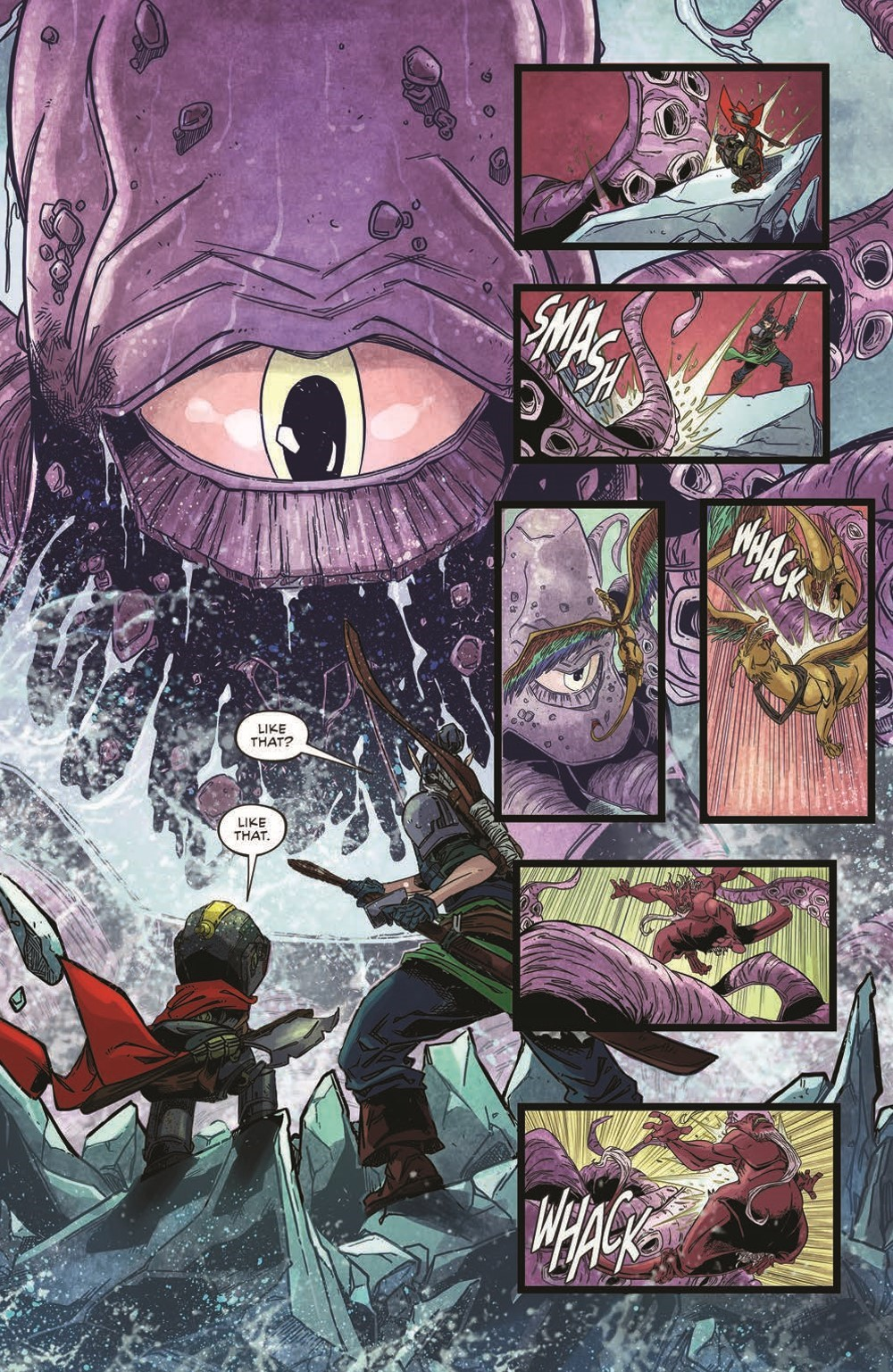 Canto-LH02_pr-6 ComicList Previews: CANTO III LIONHEARTED #2 (OF 6)