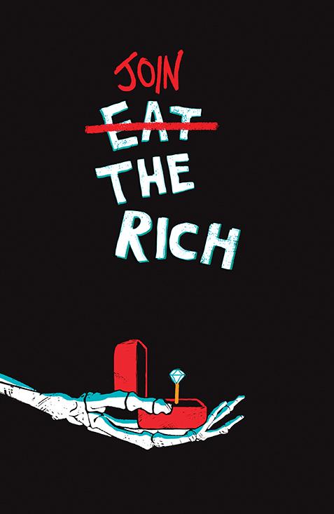 EatRich_004_Cover_B_Variant BOOM! Studios November 2021 Solicitations