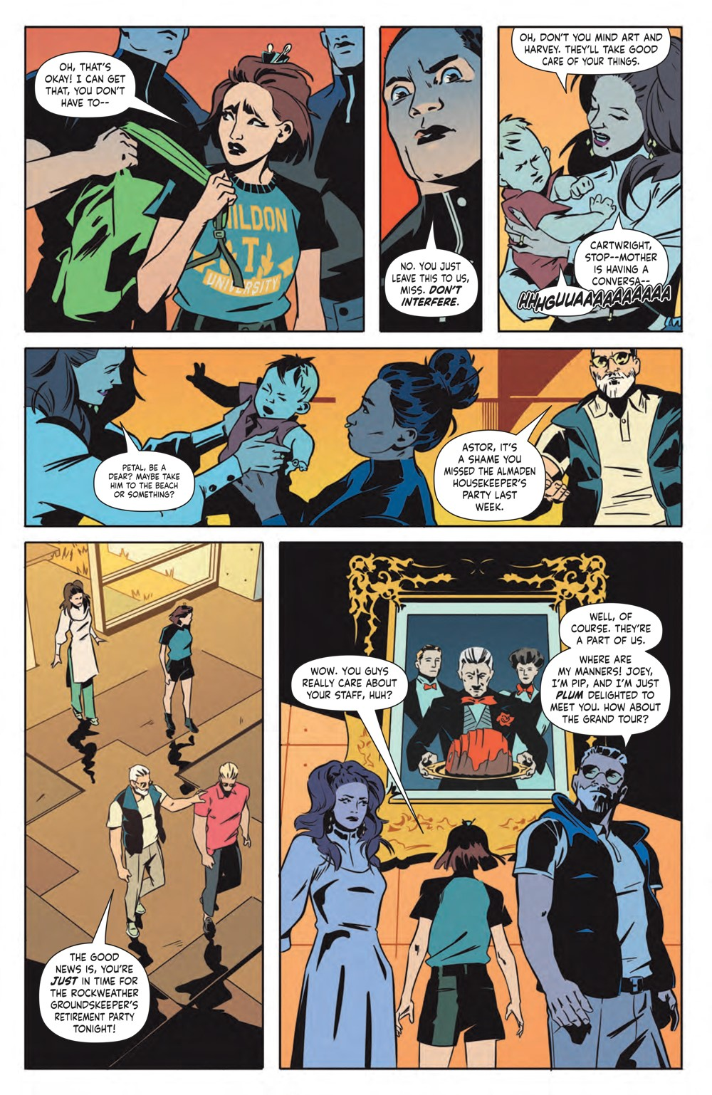 EatTheRich_001_PRESS_7 ComicList Previews: EAT THE RICH #1 (OF 5)