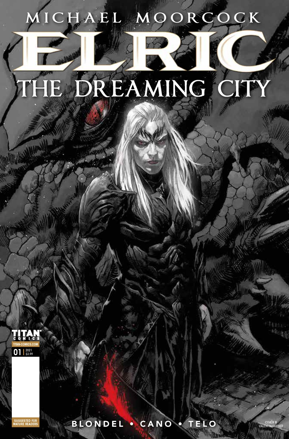 Elric_1_Cover_B ComicList Previews: ELRIC THE DREAMING CITY #1