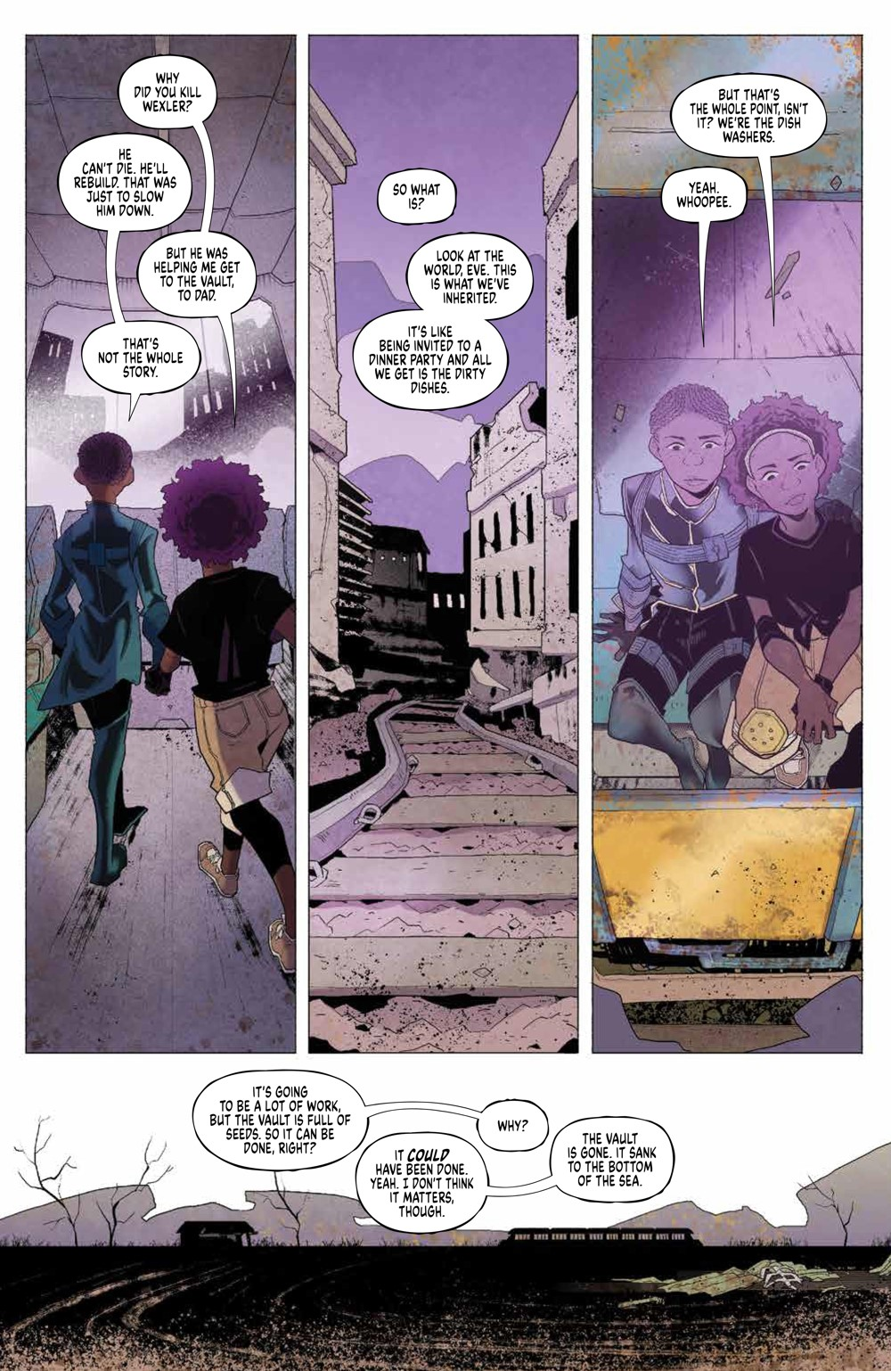 Eve_004_PRESS_6 ComicList Previews: EVE #4 (OF 5)