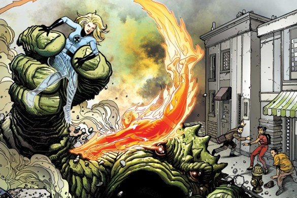 FFANNIVERSARY2021001_cov Two covers for FANTASTIC FOUR ANNIVERSARY TRIBUTE #1 released