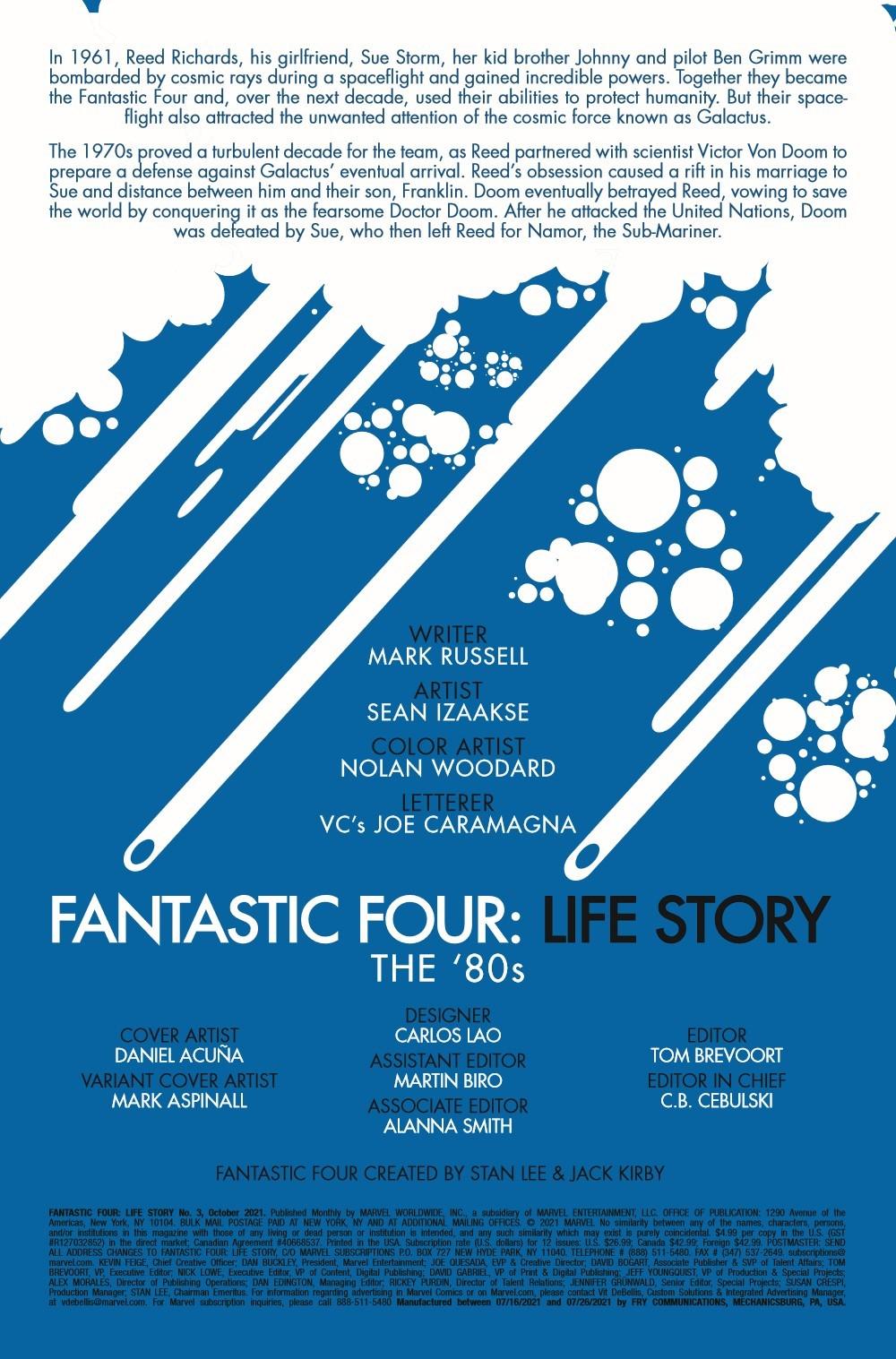FFLIFESTORY2019003_Preview-2 ComicList Previews: FANTASTIC FOUR LIFE STORY #3 (OF 6)