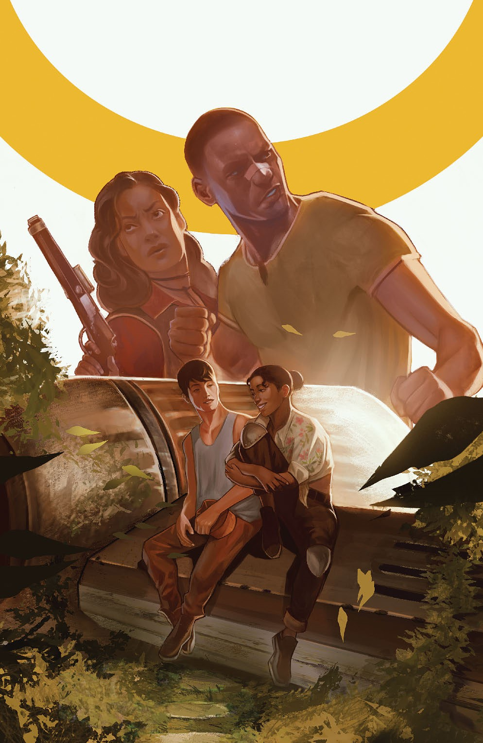 Firefly_BrandNewVerse_006_Cover_E_Unlockable ComicList Previews: FIREFLY BRAND NEW 'VERSE #6 (OF 6)