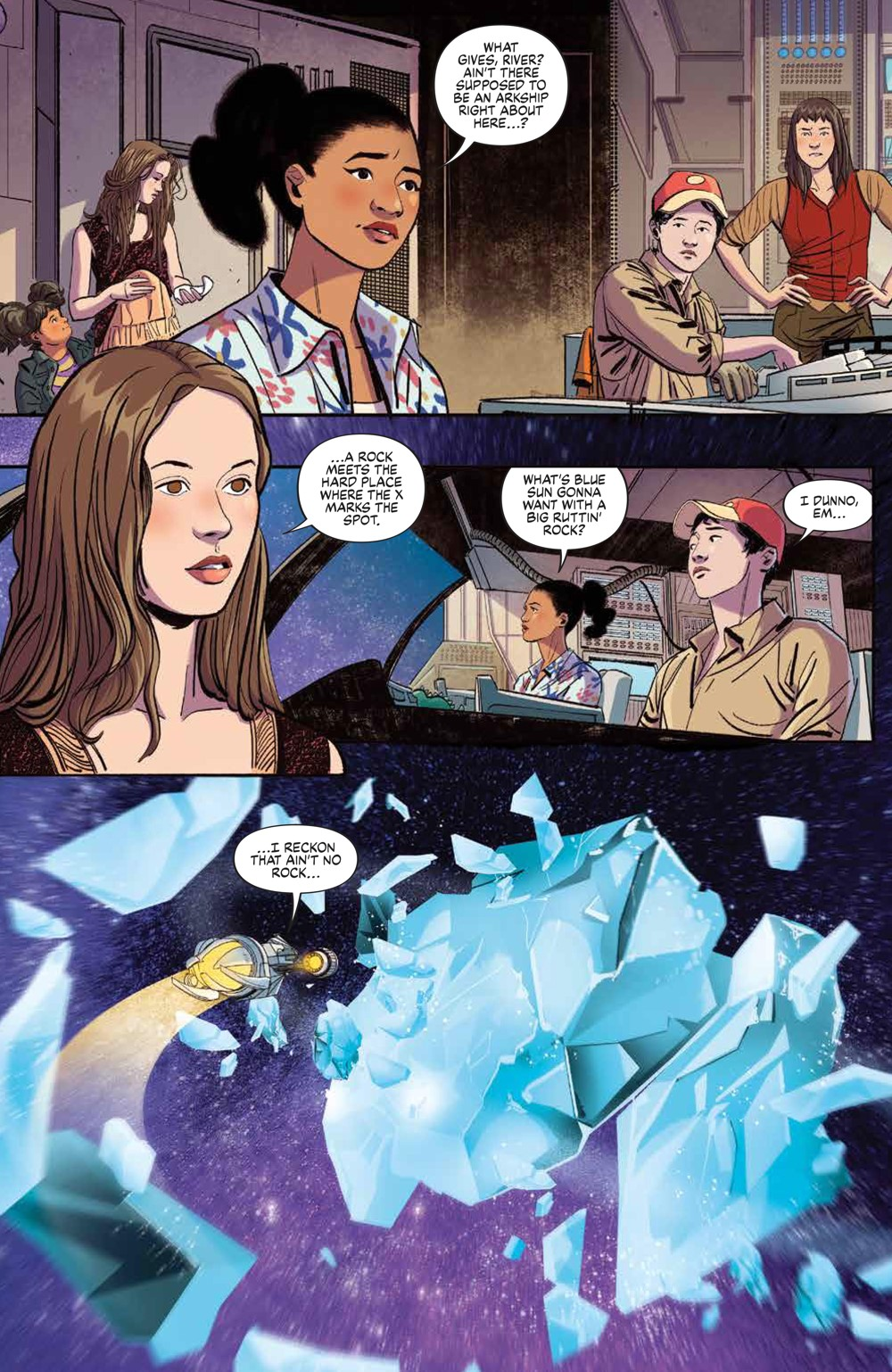 Firefly_BrandNewVerse_006_PRESS_3 ComicList Previews: FIREFLY BRAND NEW 'VERSE #6 (OF 6)