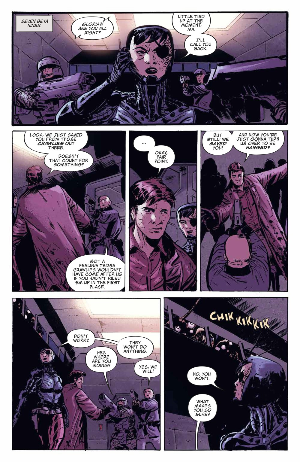 Firefly_v3_SC_PRESS_10 ComicList Previews: FIREFLY THE UNIFICATION WAR VOLUME 3 TP