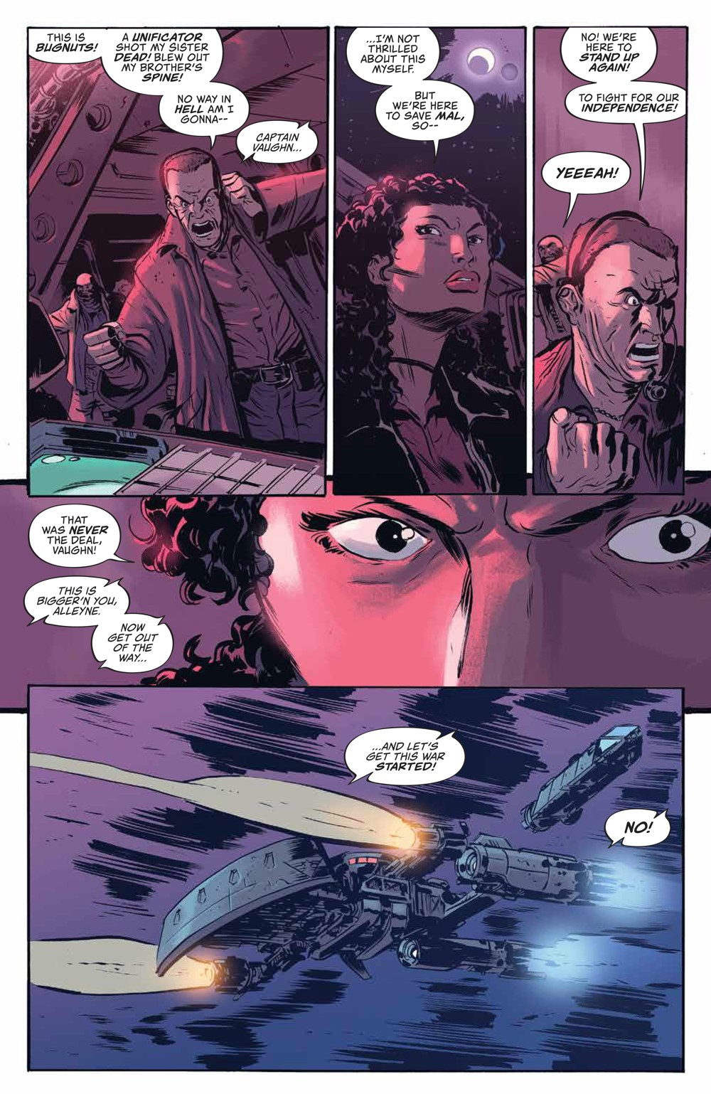Firefly_v3_SC_PRESS_15 ComicList Previews: FIREFLY THE UNIFICATION WAR VOLUME 3 TP
