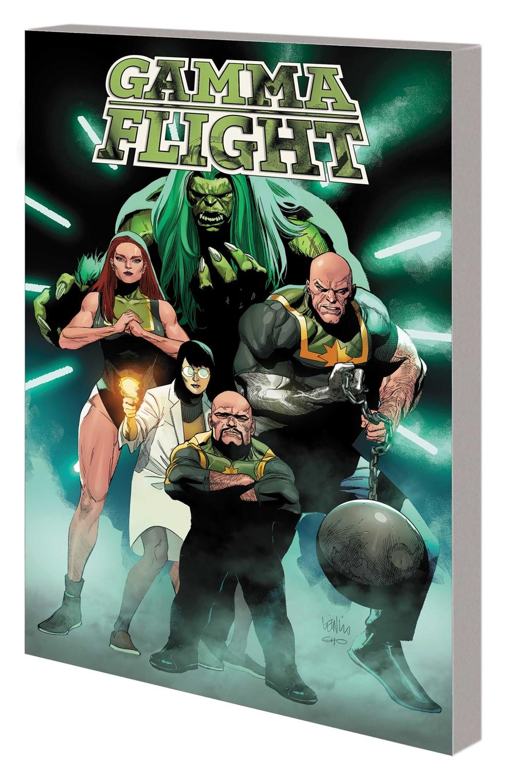GAMMAFLIGHT_TPB Marvel Comics November 2021 Solicitations