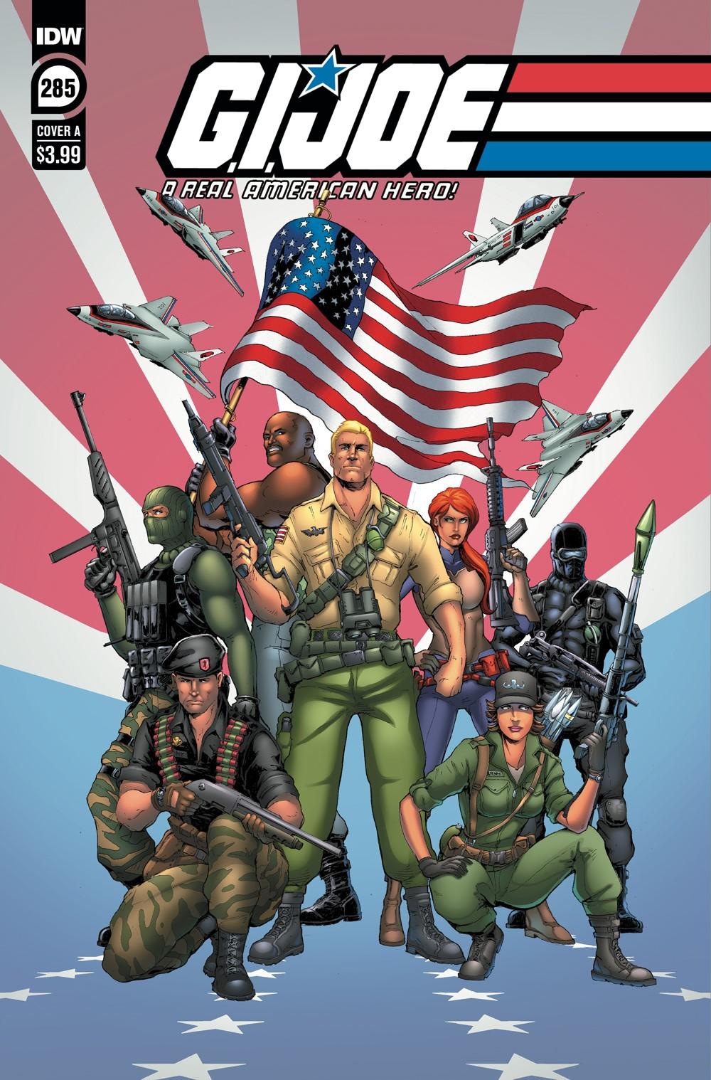 GIJoeRAH285-coverA ComicList Previews: G.I. JOE A REAL AMERICAN HERO #285