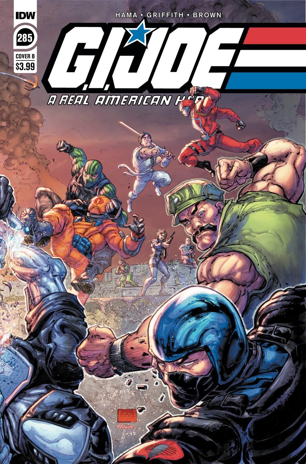 GIJoeRAH285-coverB ComicList Previews: G.I. JOE A REAL AMERICAN HERO #285