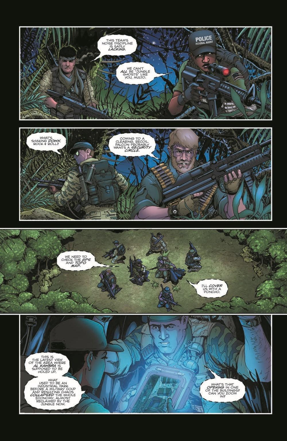 GIJoeRAH285-pr-4 ComicList Previews: G.I. JOE A REAL AMERICAN HERO #285