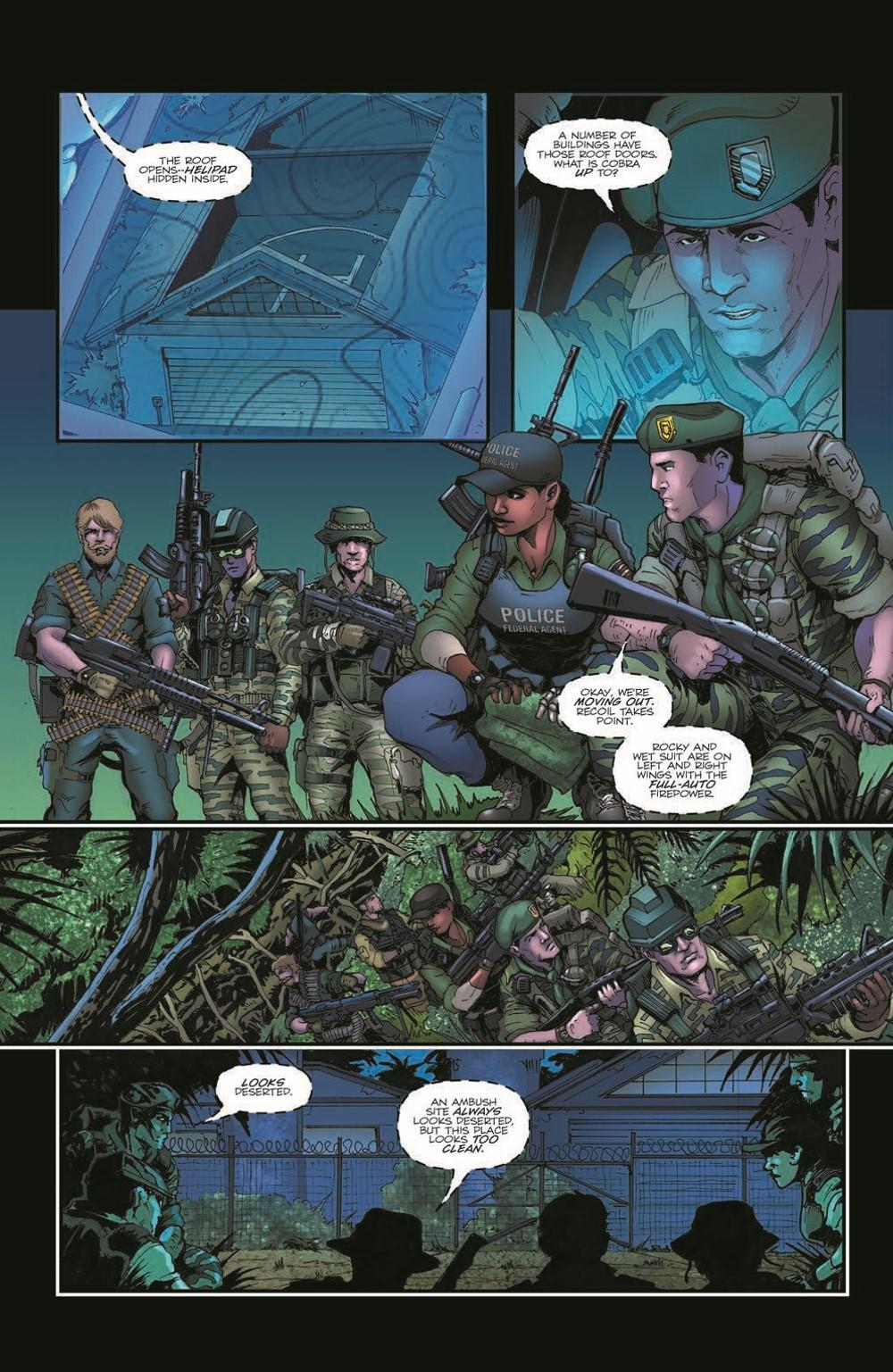 GIJoeRAH285-pr-5 ComicList Previews: G.I. JOE A REAL AMERICAN HERO #285