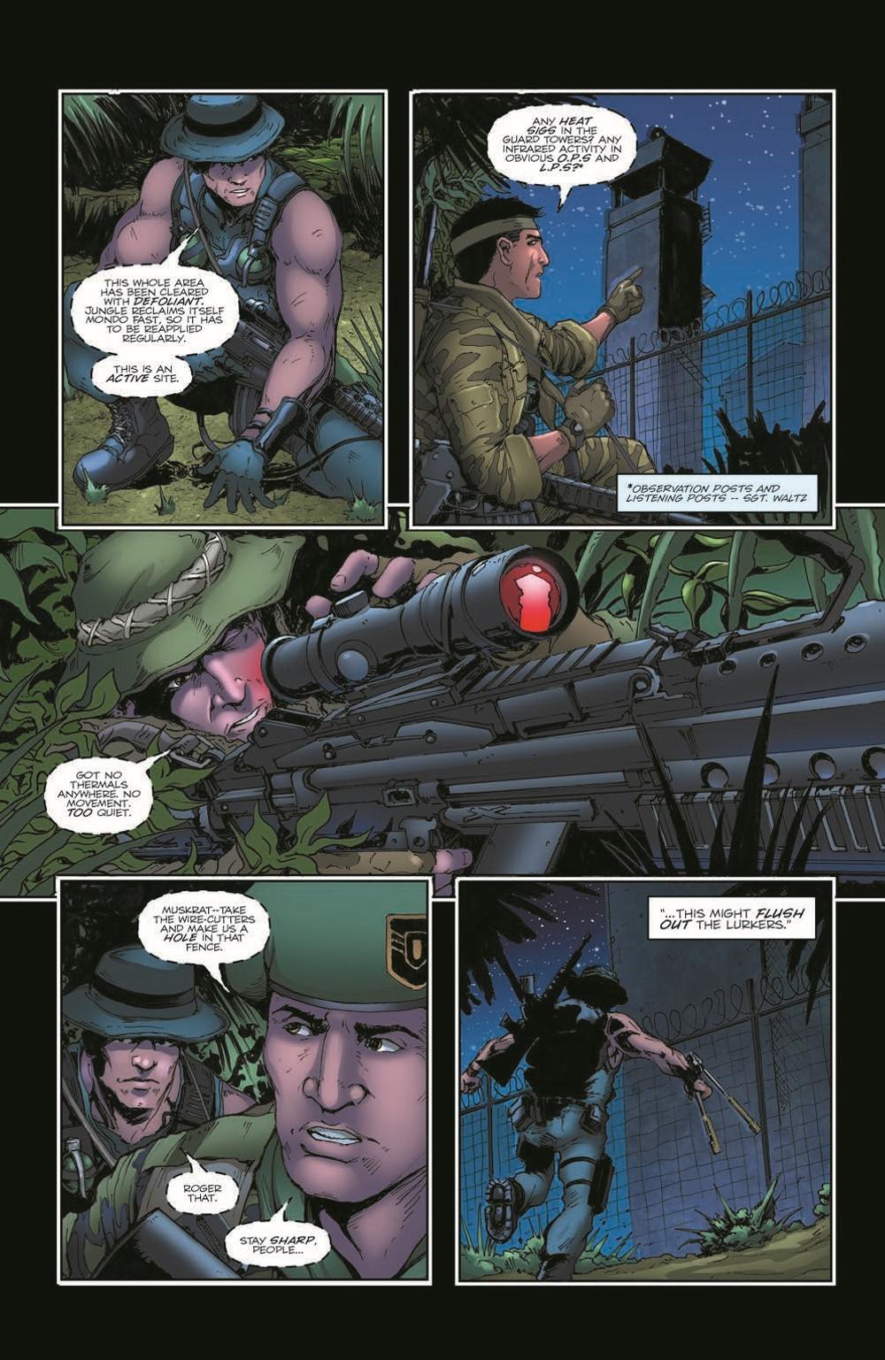 GIJoeRAH285-pr-6 ComicList Previews: G.I. JOE A REAL AMERICAN HERO #285