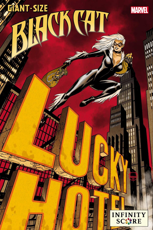 GSBLACKCATIS2021001_Lucky_var Marvel Comics November 2021 Solicitations