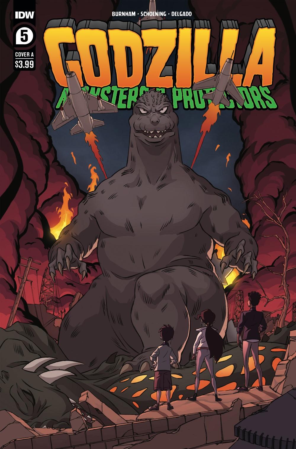 Godzilla_MP05-coverA ComicList Previews: GODZILLA MONSTERS AND PROTECTORS #5 (OF 5)