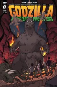 Godzilla_MP05-coverA-198x300 ComicList Previews: GODZILLA MONSTERS AND PROTECTORS #5 (OF 5)