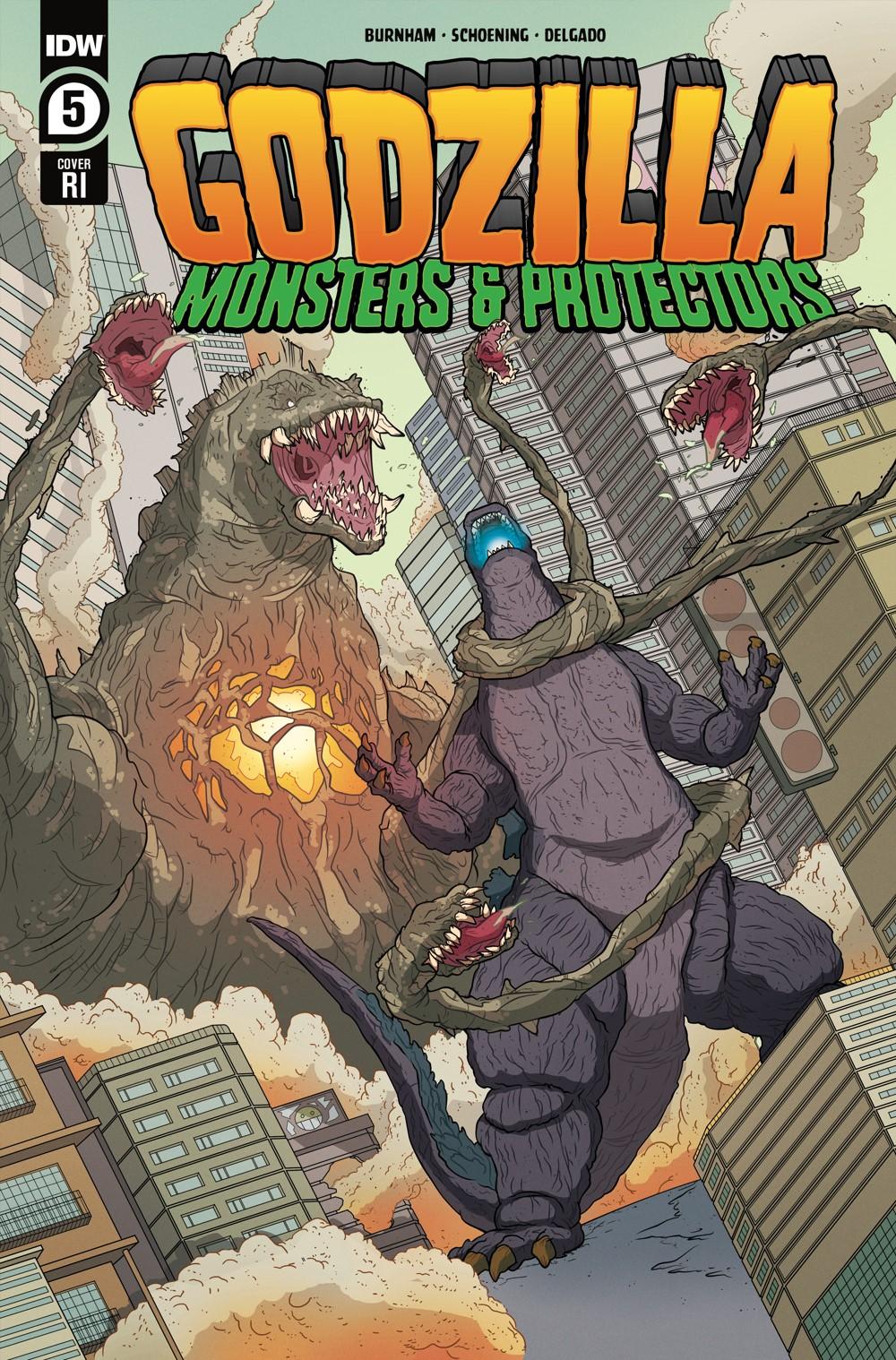 Godzilla_MP05-coverRI ComicList Previews: GODZILLA MONSTERS AND PROTECTORS #5 (OF 5)
