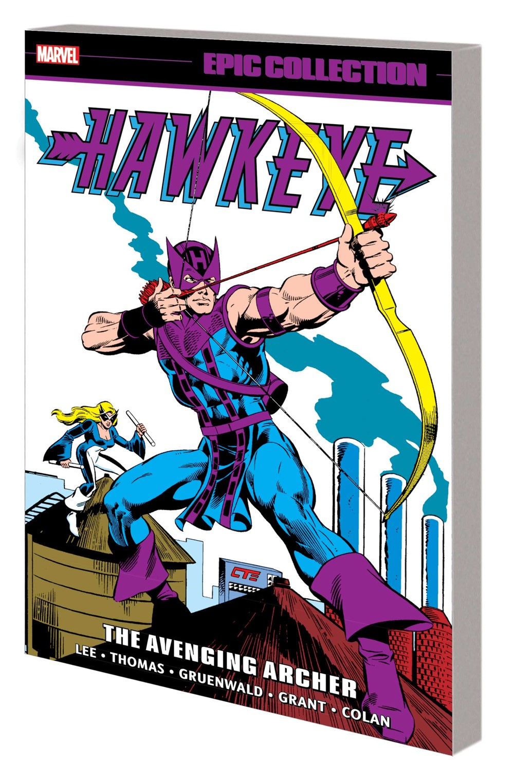 HAWKEYEEPIC_V01_TPB Marvel Comics November 2021 Solicitations