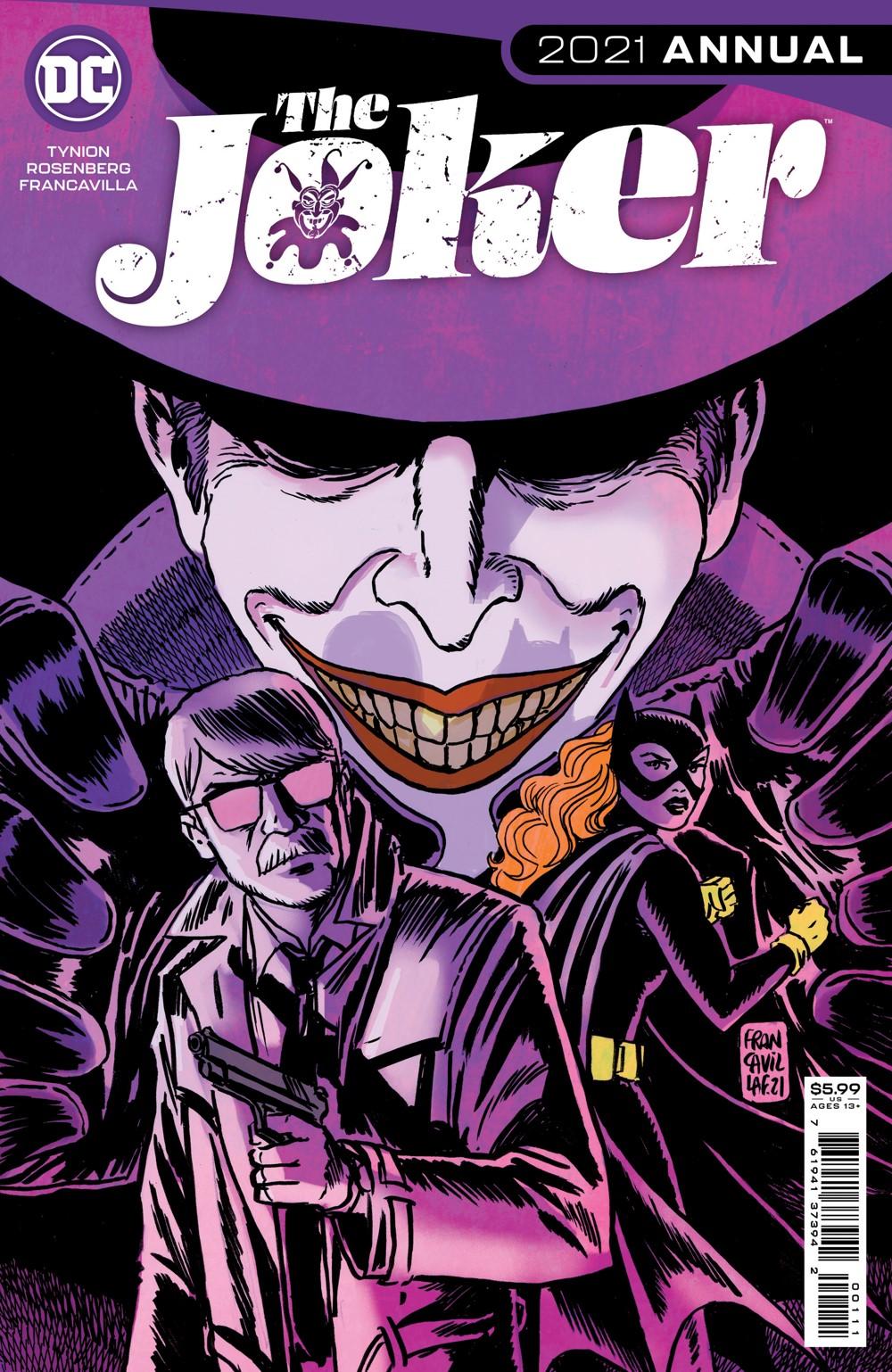 JOKER_ANN_2021_Cv1 DC Comics November 2021 Solicitations