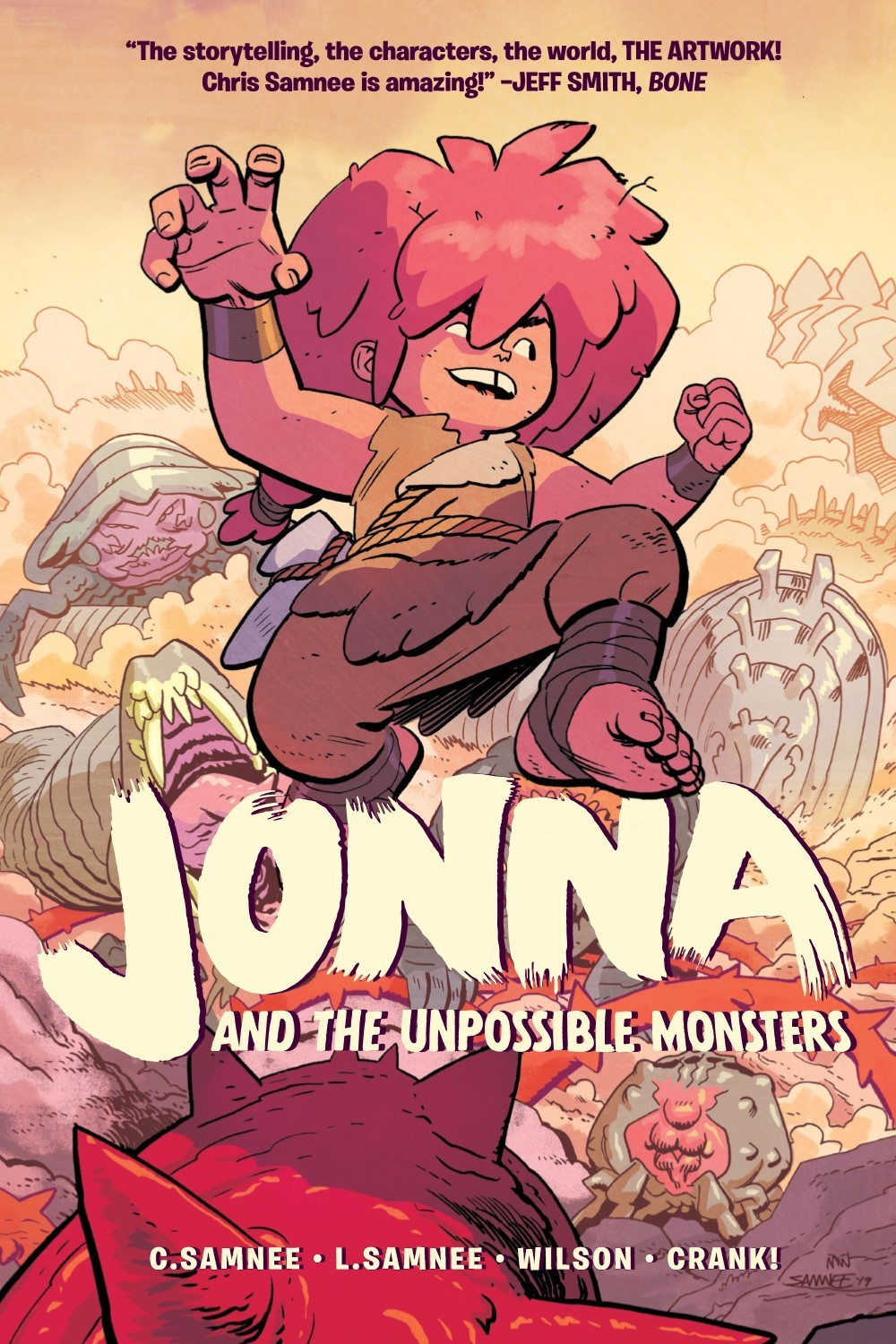 JONNA-V1-REFERENCE-001 ComicList Previews: JONNA AND THE UNPOSSIBLE MONSTER VOLUME 1 TP