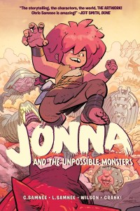 JONNA-V1-REFERENCE-001-200x300 ComicList Previews: JONNA AND THE UNPOSSIBLE MONSTER VOLUME 1 TP