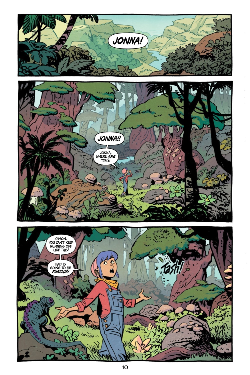 JONNA-V1-REFERENCE-011 ComicList Previews: JONNA AND THE UNPOSSIBLE MONSTER VOLUME 1 TP