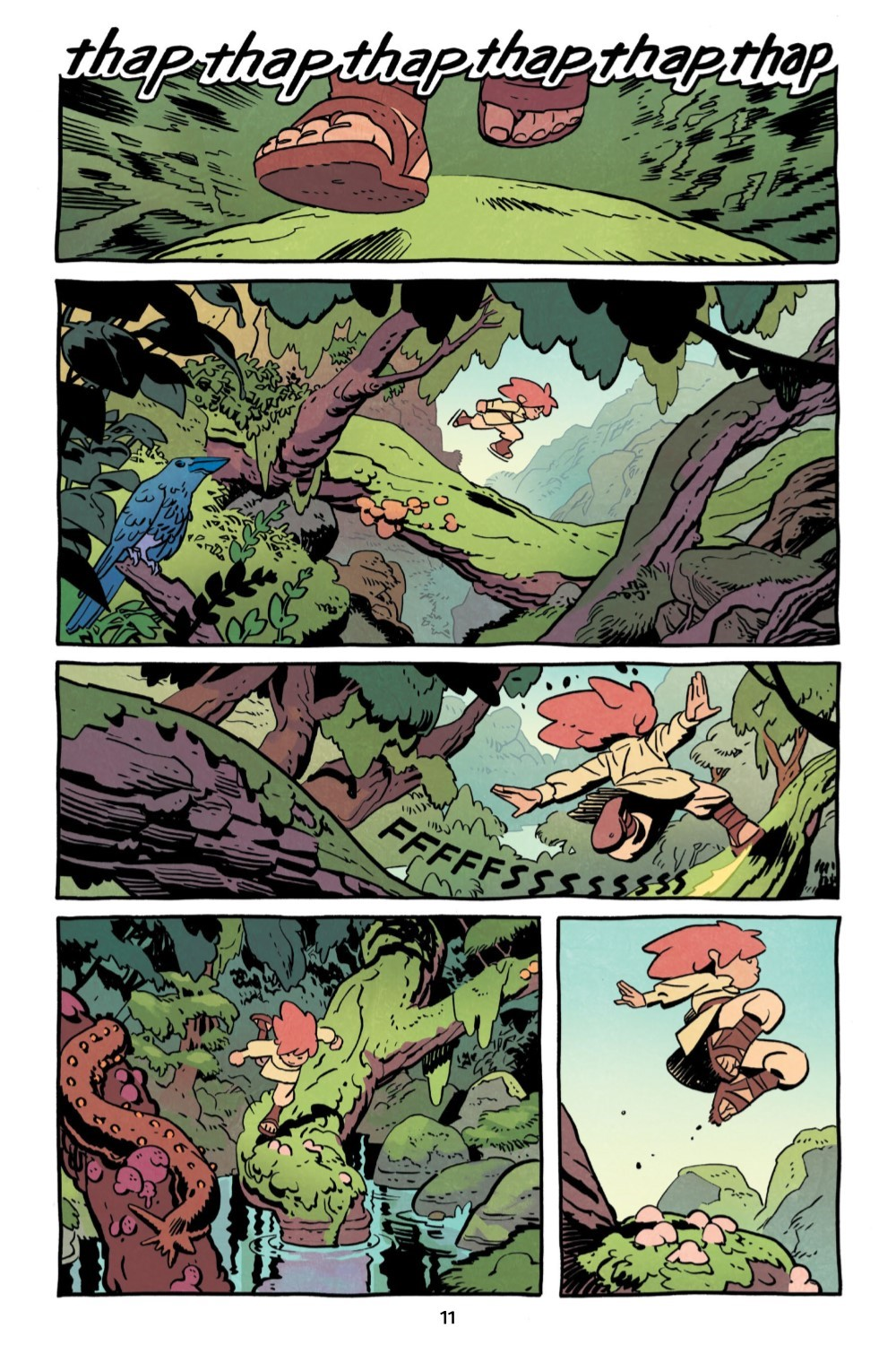 JONNA-V1-REFERENCE-012 ComicList Previews: JONNA AND THE UNPOSSIBLE MONSTER VOLUME 1 TP