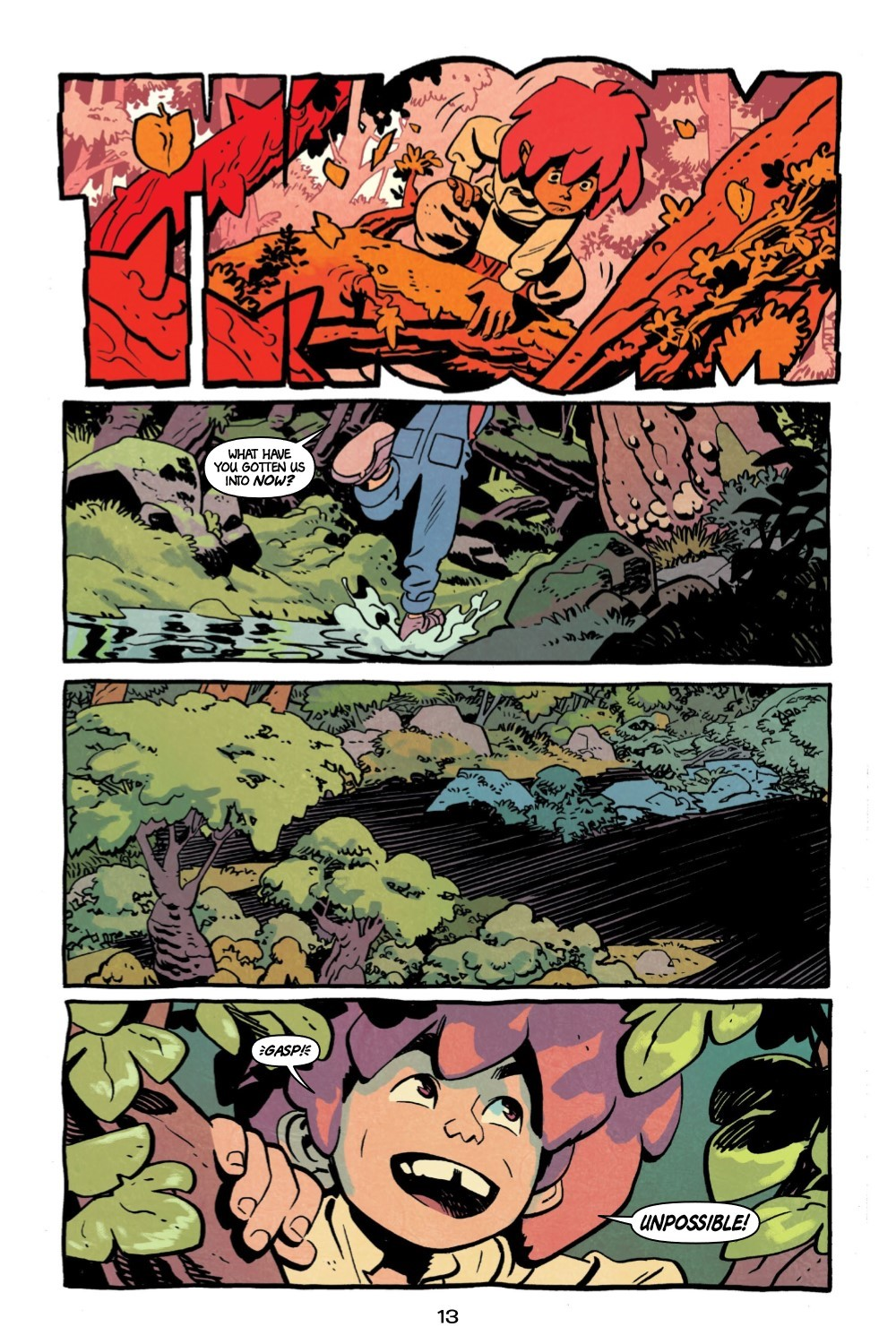 JONNA-V1-REFERENCE-014 ComicList Previews: JONNA AND THE UNPOSSIBLE MONSTER VOLUME 1 TP