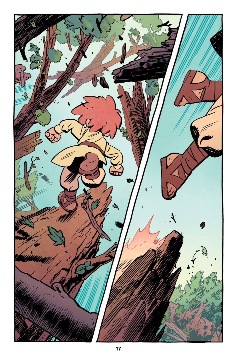JONNA-V1-REFERENCE-018 ComicList Previews: JONNA AND THE UNPOSSIBLE MONSTER VOLUME 1 TP