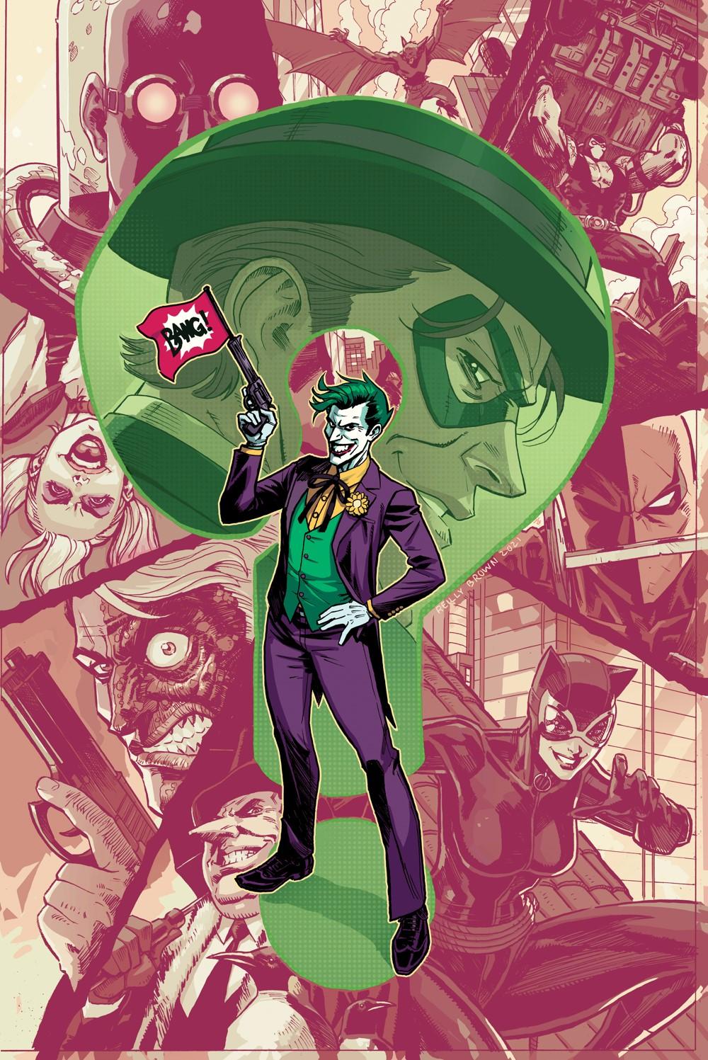 Joker_Presents_a_Puzzlebox_Cv5 DC Comics November 2021 Solicitations