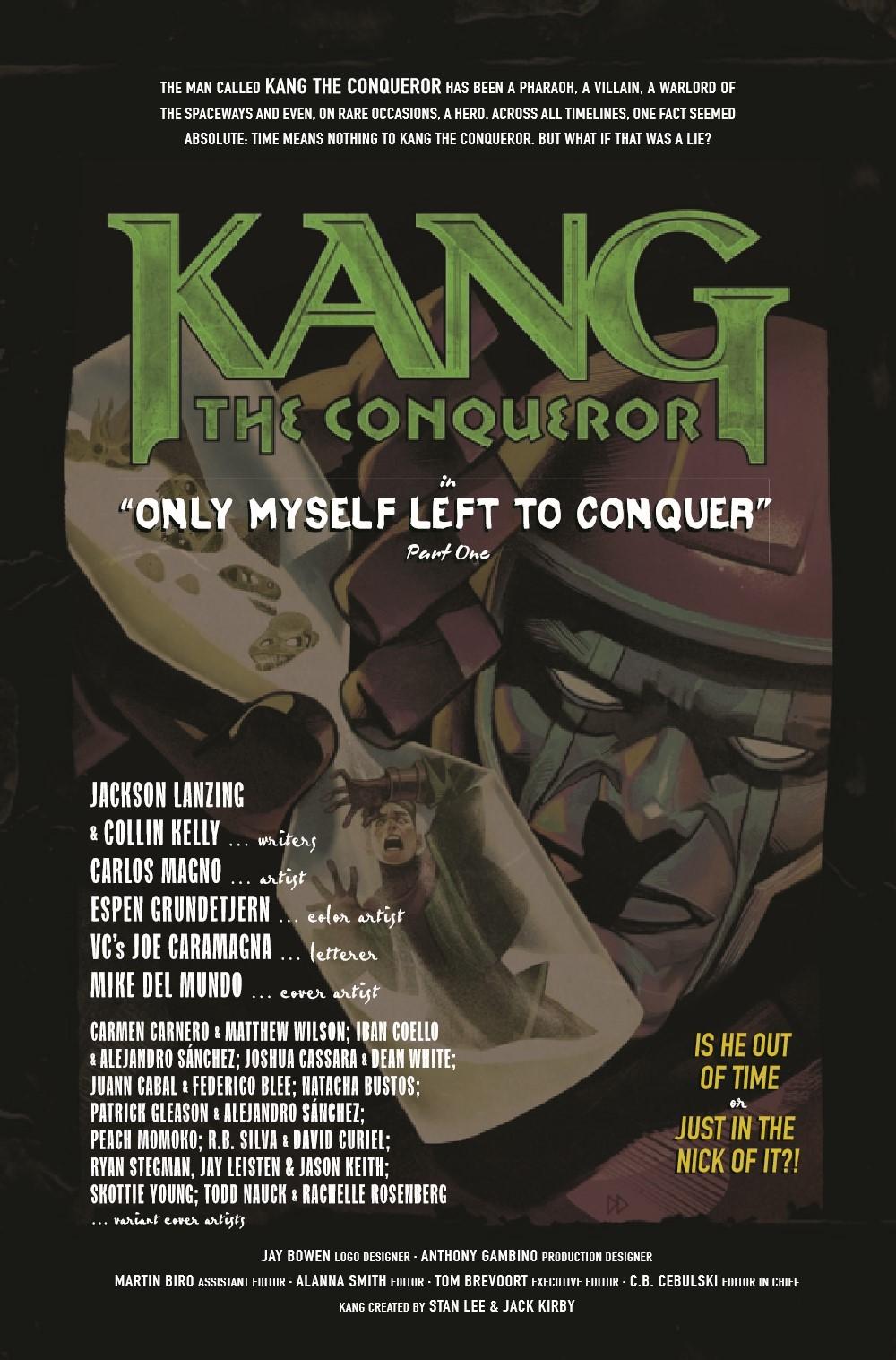 KANGCONQUEROR2021001_Preview-2 ComicList Previews: KANG THE CONQUEROR #1 (OF 5)