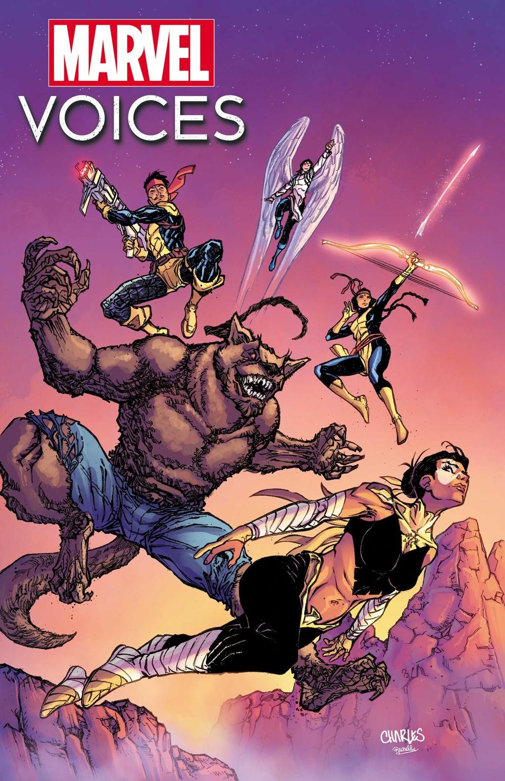 MARVOICESHERITAGE2021001_CVR Marvel Comics November 2021 Solicitations