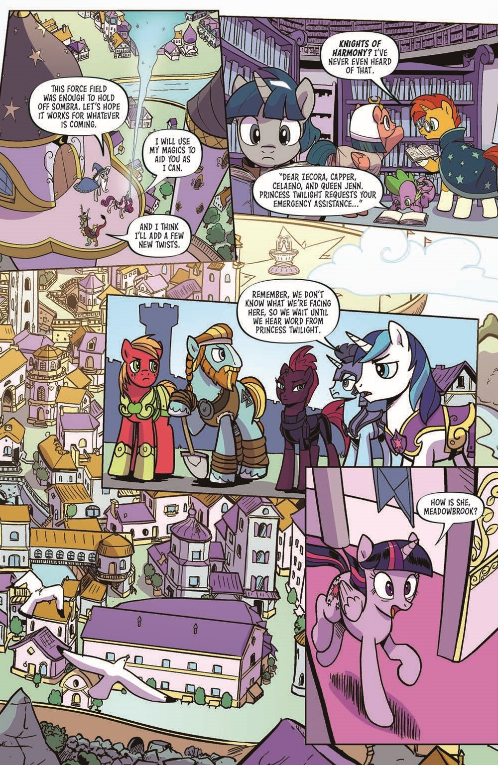 MLP101-pr-5 ComicList Previews: MY LITTLE PONY FRIENDSHIP IS MAGIC #101