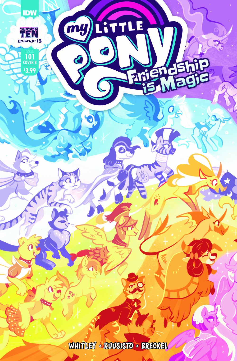 MLP101_13-coverB ComicList: IDW Publishing New Releases for 08/11/2021