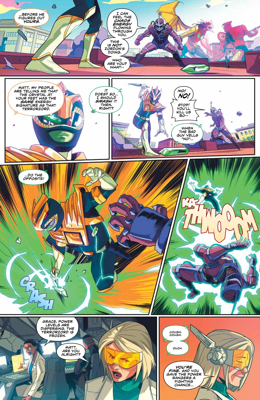 MightyMorphin_v2_SC_PRESS_12 ComicList Previews: MIGHTY MORPHIN VOLUME 2 TP