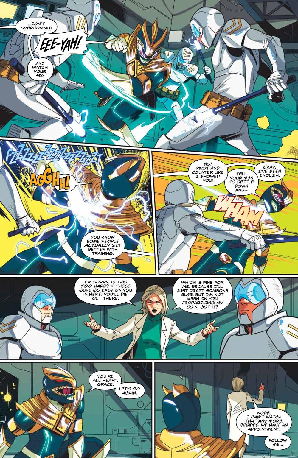 MightyMorphin_v2_SC_PRESS_18 ComicList Previews: MIGHTY MORPHIN VOLUME 2 TP