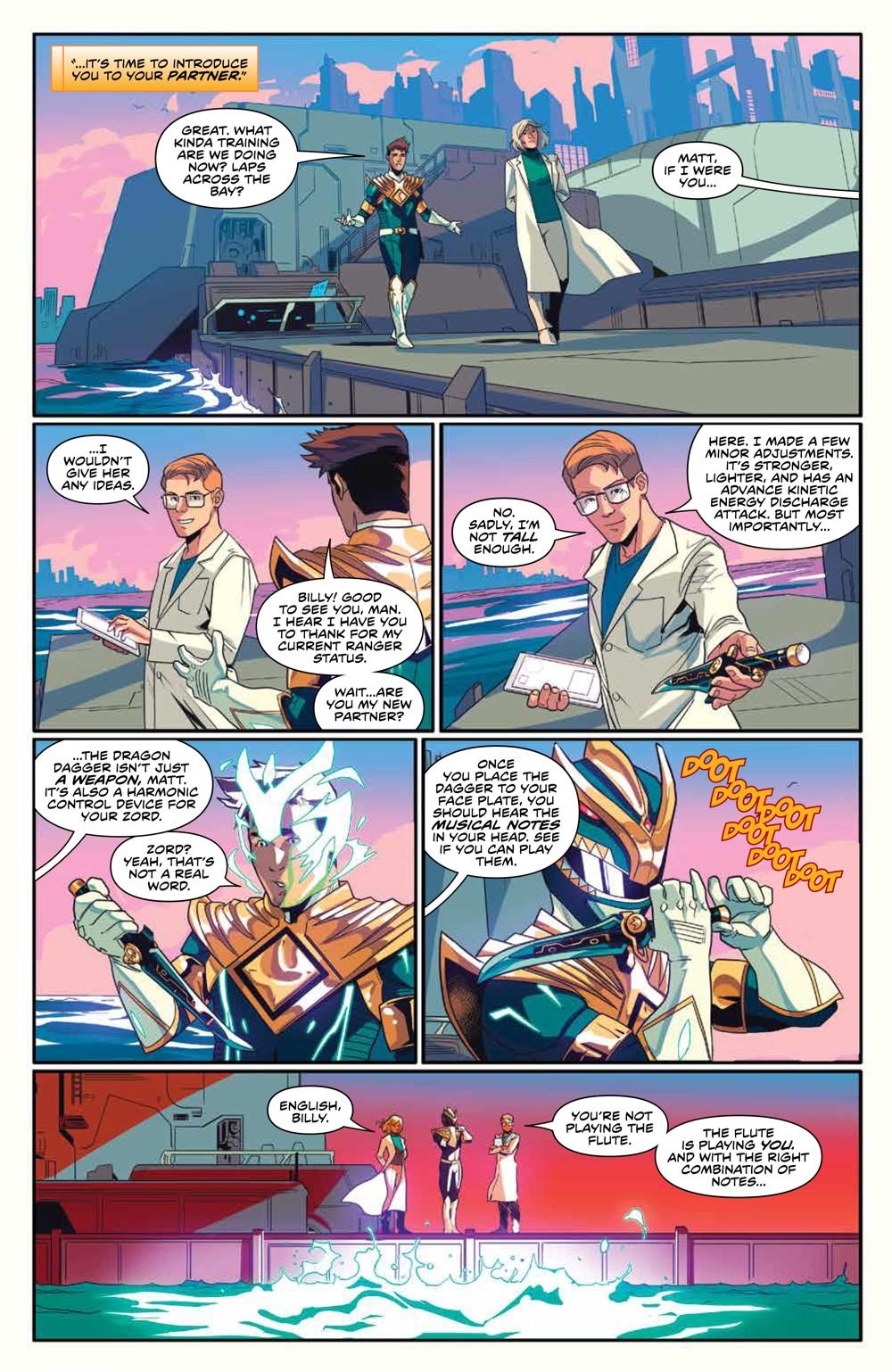 MightyMorphin_v2_SC_PRESS_19 ComicList Previews: MIGHTY MORPHIN VOLUME 2 TP