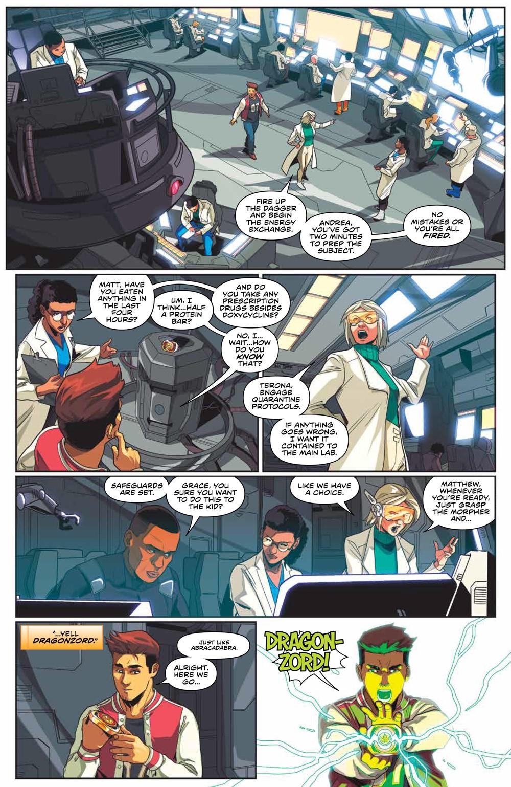 MightyMorphin_v2_SC_PRESS_9 ComicList Previews: MIGHTY MORPHIN VOLUME 2 TP