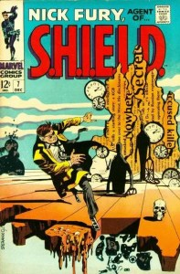 Nick-Fury-7-197x300 Jim Steranko Original Art: Rare Auction for Comic Legend