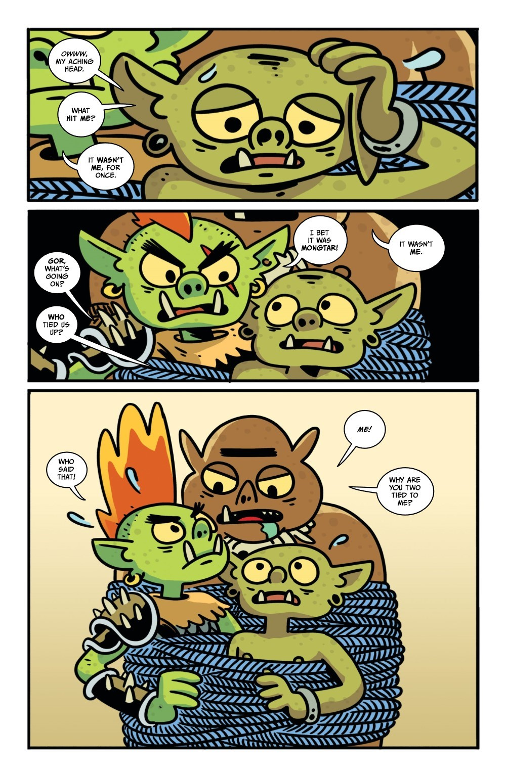 ORCSINSPACE-3-REFERENCE-07 ComicList Previews: ORCS IN SPACE #3