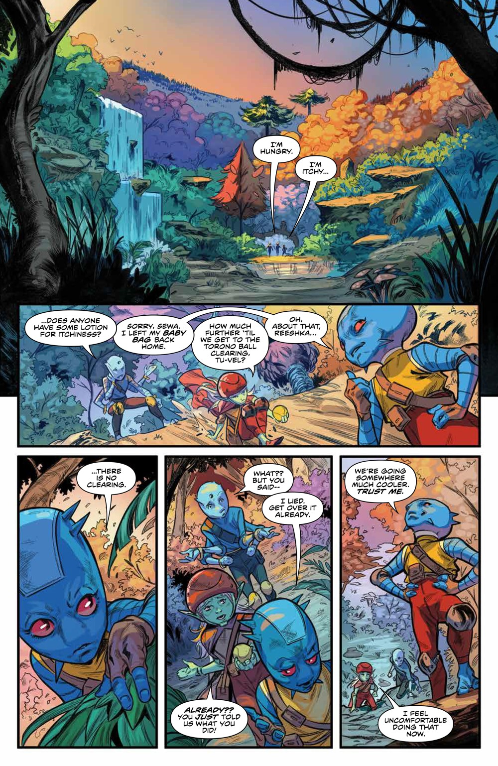 PowerRangers_010_PRESS_8 ComicList Previews: POWER RANGERS #10
