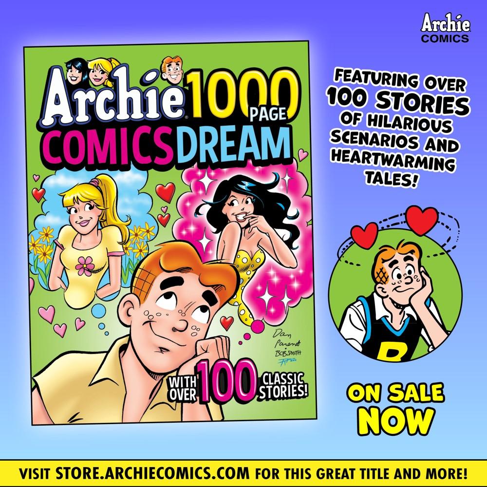 Preorder_Graphic_JUL_2021_OSN_06 ComicList Previews: ARCHIE 1000 PAGE COMICS DREAM TP