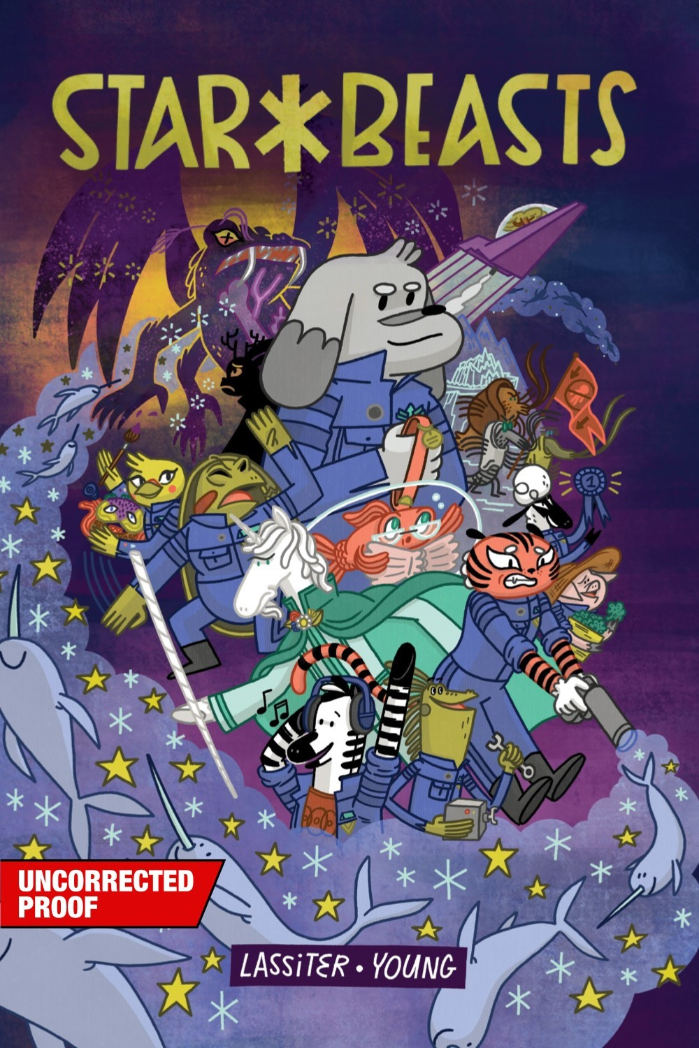 STARBEASTS-MARKETING-001 ComicList: Oni Press New Releases for 08/18/2021