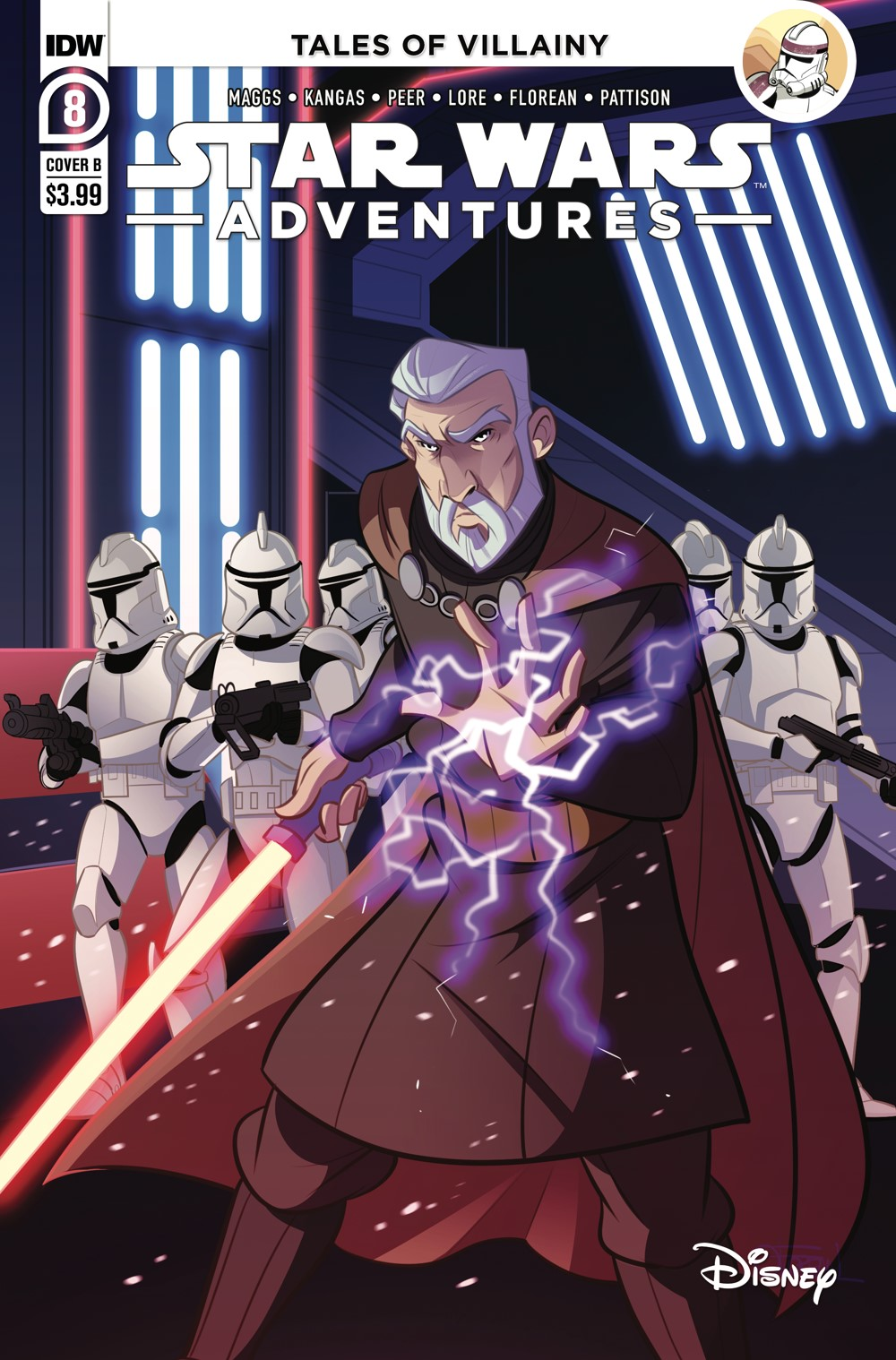 SWA-08-Cover-B ComicList: IDW Publishing New Releases for 08/18/2021