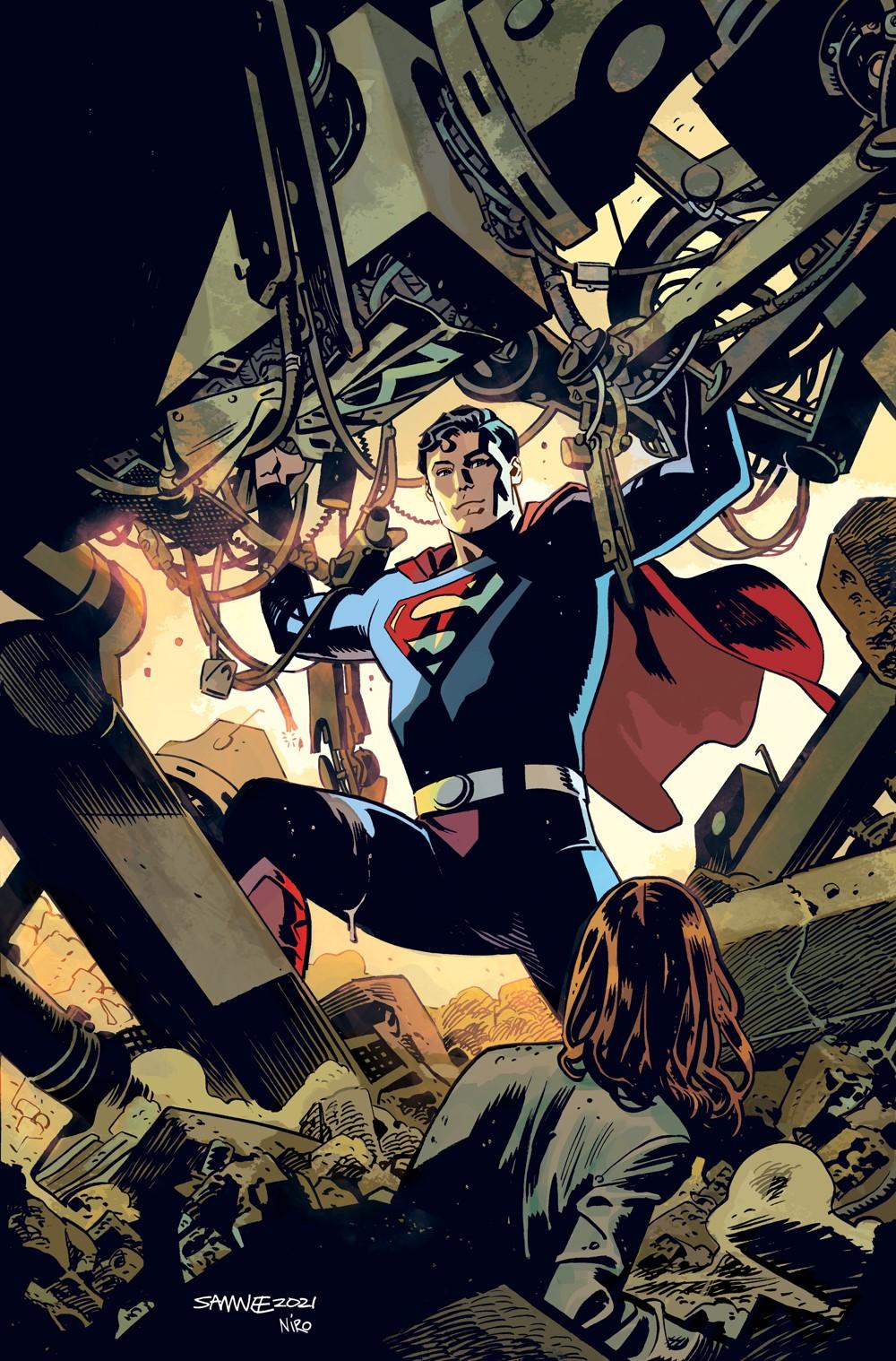 Superman-78-4-Variant DC Comics November 2021 Solicitations