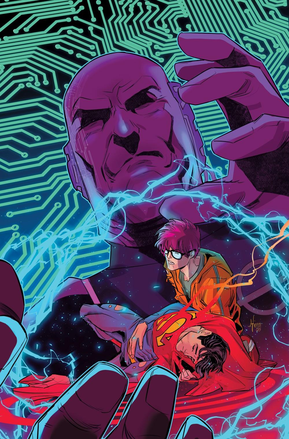 Superman-Son-of-Kal-El-Cv5 DC Comics November 2021 Solicitations